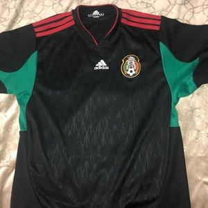 Adidas Mexico soccer shirt